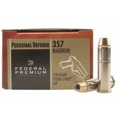 Federal Premium Personal Defense .357 Magnum 158 Gr. Hydra-Shok Jacketed Hollow Point- Box of 20