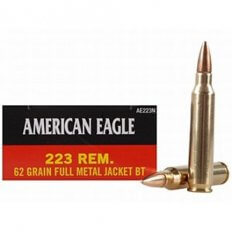 Federal American Eagle .223 Remington 62 Gr. Full Metal Jacket- Box of 20