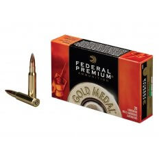 Federal Premium Gold Medal .308 Winchester 168 Gr. Sierra MatchKing Hollow Point Boat Tail- Box of 20