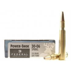 Federal Power-Shock .30-06 - 150 Gr. SP - Box of 20