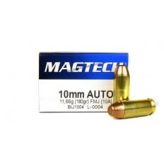 Magtech Sport 10mm Auto 180 Gr. Full Metal Jacket- 10A-MAGTECH