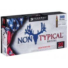 Federal Non-Typical .300 Winchester Magnum 150 Gr. Soft Point- 300WDT150