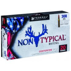 Federal Non-Typical .308 Winchester 150 Gr. Soft Point- Box of 20