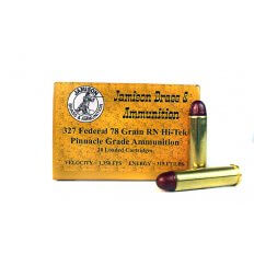 Jamison Pinnacle Grade .327 Federal Magnum 78 Gr. Hi-Tek Polymer Coated Round Nose- 327FED-78PIN