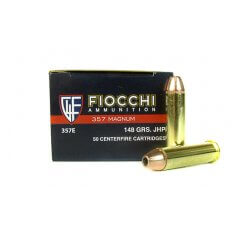 Fiocchi Shooting Dynamics .357 Magnum 148 Gr. Jacketed Hollow Point- 357E