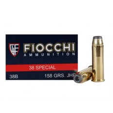 Fiocchi Shooting Dynamics .38 Special 158 Gr. Jacketed Hollow Point- 38B