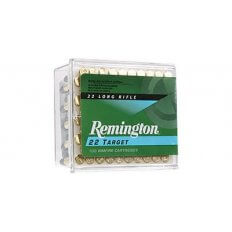Remington 22 Target .22 Long Rifle 40 Gr. Lead Round Nose- Box of 100