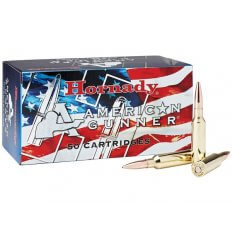 Hornady American Gunner 6.5 Creedmoor 140 Gr. Hollow Point Boat Tail- 81482