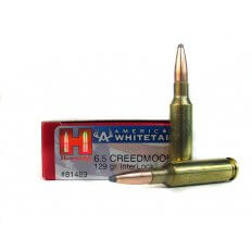 Hornady American Whitetail 6.5 Creedmoor 129 Gr. Interlock Spire Point 81489