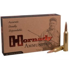 Hornady Custom .264 Winchester Magnum 140 Gr. InterLock Spire Point- 8154