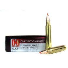 Hornady Superformance GMX .300 Winchester Magnum 180 Gr. GMX Boat Tail- 82196