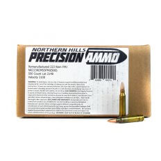 Northern Hills Precision .223 Remington 55 Gr. Full Metal Jacket- Remanufactured- 99550