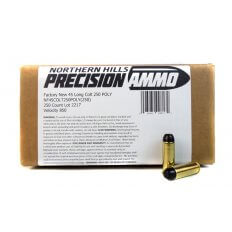 Northern Hills Precision .45 Colt 250 Gr. Polymer Coated Lead Flat Point- 99817