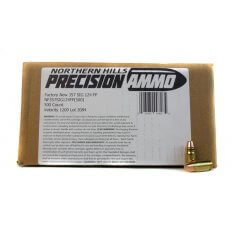 Northern Hills Precision .357 Sig 124 Gr. Flat Point- 99826