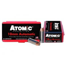 Atomic 10mm Auto  180 Gr. Bonded Match Hollow Point- A00432