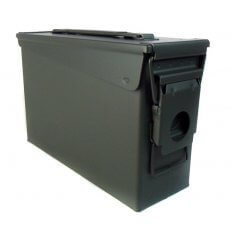 "M19A1 Ammo Can .30 Caliber New 7.25""H x 10.75""L x 3.75""W Steel- A10104"