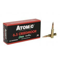 Atomic 6.5 Creedmoor 142 Gr. Sierra MatchKing Hollow Point Boat Tail- A4041