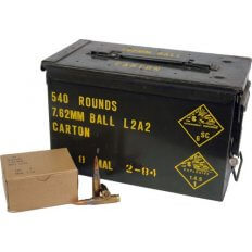 Military Surplus .308 Winchester 146 Gr. Full Metal Jacket- A540