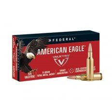 Federal American Eagle .224 Valkyrie 75 Gr. Total Metal Jacket- AE224VLK1