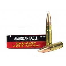 Federal American Eagle .300 AAC Blackout 150 Gr. Full Metal Jacket Boat Tail- AE300BLK1