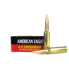 Federal American Eagle 6.5 Creedmoor 140 Gr. Open Tip Match- AE65CRD1
