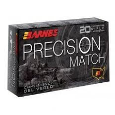 Barnes Precision Match 6.5 Creedmoor 140 Grain Open Tip Match (OTM)- 30166