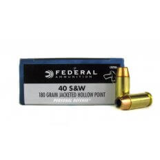 Federal Premium Personal Defense .40 S&W 180 Gr. Jacketed Hollow Point- C40SWA