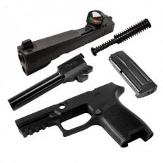 SIG SAUER Caliber X-Change Kit P320 Full Size 9mm, Romeo1 Sight- CALX-320F-9-B-RX