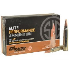 SIG SAUER Elite Performance Hunting HT .300 Winchester Magnum 165 Gr. Solid Copper- Lead-Free Expanding- E3WMH1