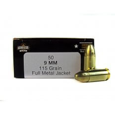 Armscor 9mm Luger 115 Gr. Full Metal Jacket-FAC9-2N