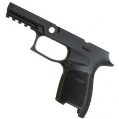 SIG SAUER P250/P320 Grip Module Assembly, Carry, Small, 9mm, .357 Sig, .40 S&W- GRIPCA943SMBLK
