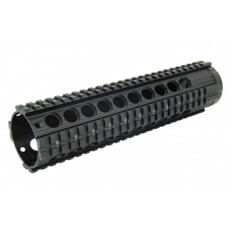 "AR10 Free-Float Quad Rail Handguard with Aluminum Barrel Nut 10""- HG12-308-10"