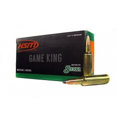 HSM GameKing .300 Winchester Short Magnum (WSM) 180 Gr. Sierra GameKing Soft Point Boat Tail- HSM-300WSM-41-N