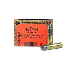 """HSM Factory Blemish .32-20 Winchester 115 Gr. Round Nose Flat Point """"Cowboy Action Lead""""- HSM-32-20WIN-1-N"""