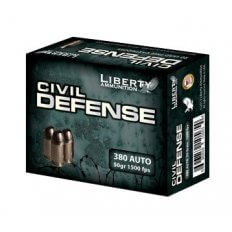 Liberty Civil Defense .380 ACP 50 Gr. Fragmenting Hollow Point- Lead-Free-LA-CD-380-023