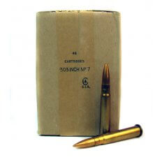 Military Surplus .303 British 174 Gr. FMJ- MSA303B17448