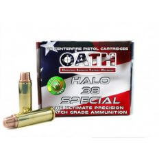 OATH HALO .38 Special 125 Gr. Copper Solid Lead-Free Match- AH38SPCL