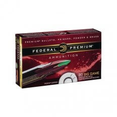Federal Premium 6.5 Creedmoor 120 Gr. Trophy Copper Tipped Boat Tail- Lead-Free- P65CRDTC1