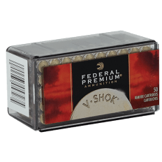 Federal Premium V-Shok .22 Magnum Rimfire 30 Gr. Speer TNT Jacketed Hollow Point- P765