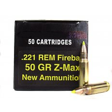 PCI .221 Remington Fireball 50 Gr. Hornady Z-Max- PC221FB