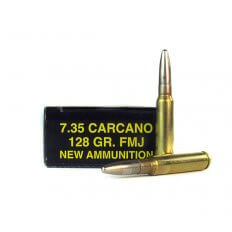 PCI 7.35x51 Carcano 128 Gr. Full Metal Jacket- PCI735X51FMJ