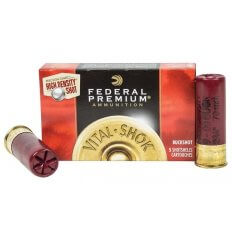 "Federal Premium 12 Gauge 2-3/4"" High Density 00 Buckshot 9 Pellets- PHD15900"