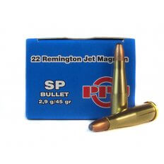 Prvi Partizan .22 Remington Jet 45 Gr. Soft Point- PP-R2.0