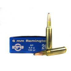 Prvi Partizan 6mm Remington 100 Gr. Soft Point- PP6.60