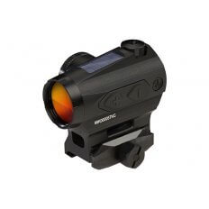 SIG SAUER ROMEO4T 1x20mm Compact Red Dot Sight w/Mount- Ballistic Circle Plex Reticle- Black