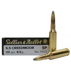 Sellier & Bellot 6.5 Creedmoor 131 Gr. Soft Point- Box of 20 SB65B