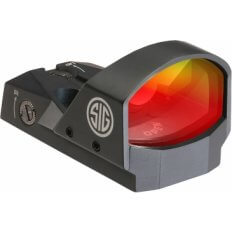 SIG SAUER ROMEO1 1x30mm Reflex Sight 3 MOA Red Dot with M1913 Mount- SOR11001