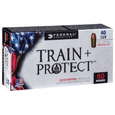 Federal Train & Protect .40 S&W 180 Gr. Versatile Hollow Point- TP40VHP1