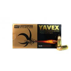 Yavex 9mm Luger 115 Gr. Full Metal Jacket- yavex9mm115fmj-2