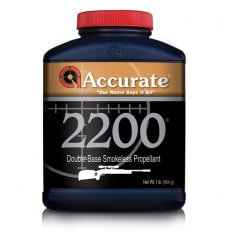 Accurate 2200 Smokeless Powder- 1 Lb. (HAZMAT Fee Required)